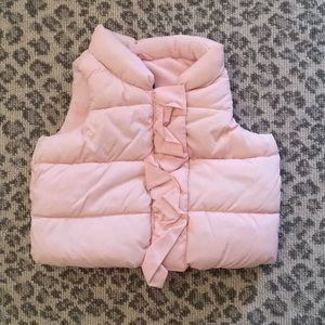 GAP Jackets & Coats - Gap baby girl puffer vest!